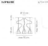 Подвесной светильник BLUM Axo Light