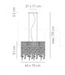 Подвесной светильник MARYLIN Axo Light