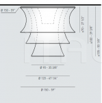 Потолочный светильник EULER GMP Axo Light