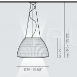 Подвесной светильник BELL  090 Axo Light