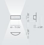 Настенный светильник SKIN SKI 040 Axo Light