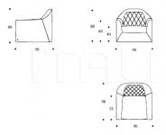 Кресло Veyron Smania