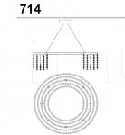 Подвесной светильник 714/70 Italamp