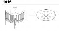 Подвесной светильник 1016/86 Italamp
