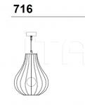 Подвесной светильник 716/45 Italamp