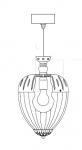 Подвесной светильник 200/25 Italamp