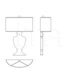 Настенный светильник 8010/APP Italamp