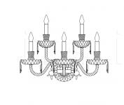 Настенный светильник 283/AP5 Italamp
