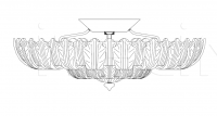 Потолочный светильник 74/200T Italamp