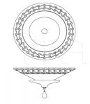 Потолочный светильник 671/65 Italamp