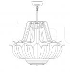 Подвесной светильник 79/65C Italamp