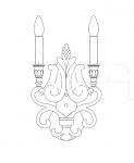 Настенный светильник 663/AP2 Italamp