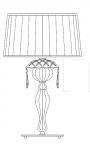 Настольный светильник 348/LG Italamp