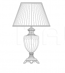 Настольный светильник 8092/G Italamp
