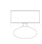 Настольный светильник 8019/LG Italamp