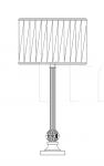 Настольный светильник 8022/LG Italamp