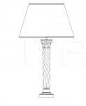 Настольный светильник 8030/G Italamp