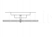 Потолочный светильник 3009/FE Italamp