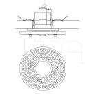 Потолочный светильник 3000/FI Italamp