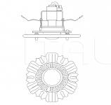 Потолочный светильник 3001/FI Italamp