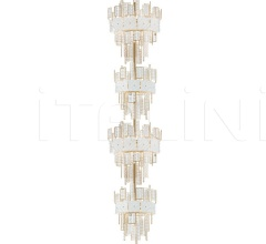 Подвесной светильник Crystalline 493/16+16 фабрика IDL Export