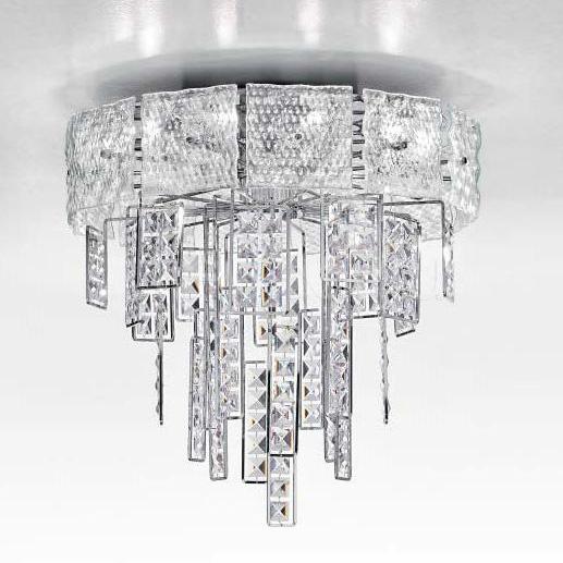 Потолочный светильник Crystalline 493/10PF IDL Export