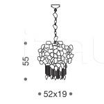 Подвесной светильник Corten 469/6 IDL Export