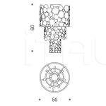 Потолочный светильник Bubbles 427/10PF IDL Export