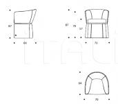 Кресло Gramercy PLGRAMER04 Smania