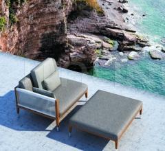 Итальянские диваны - Угловой элемент Amalfi фабрика Smania
