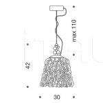 Подвесной светильник Glossy 432/1SP IDL Export