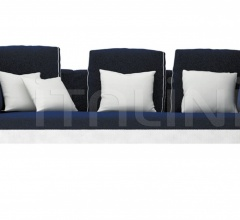Трехместный диван Maratea фабрика Smania