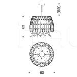 Подвесной светильник Emotion 421/60 IDL Export
