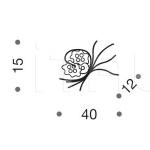 Настенный светильник Bouquet 426/2A IDL Export