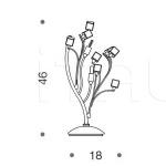 Настольный светильник Dado 371/2L IDL Export