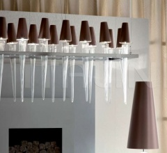 Подвесная лампа Torches chandelier фабрика Giorgio Collection