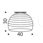 Потолочный светильник Ischia 480/40PF IDL Export