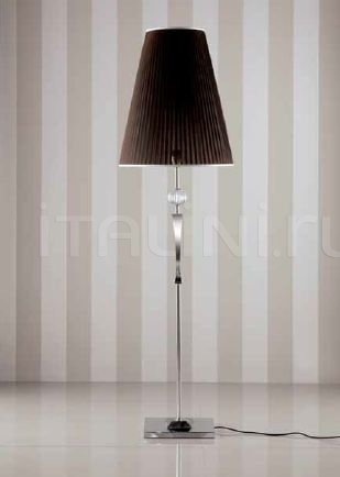 Торшер Kelly 3 floor lamp with brown shade Giorgio Collection