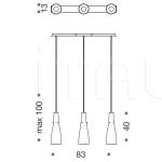 Подвесной светильник Inka 9017/3SM IDL Export