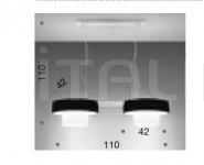 Подвесной светильник Maya 9000/2x42S IDL Export