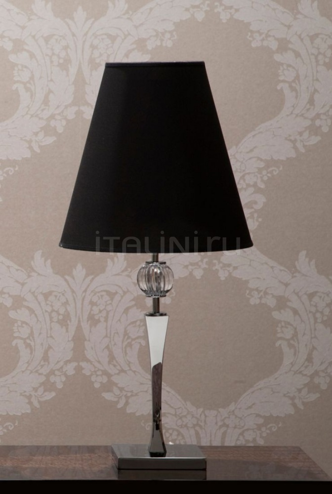Настольная лампа Kelly 2 lamp with black shade Giorgio Collection