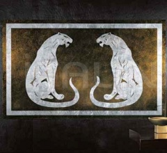 Интерьерная миниатюра Silver panther фабрика Giorgio Collection