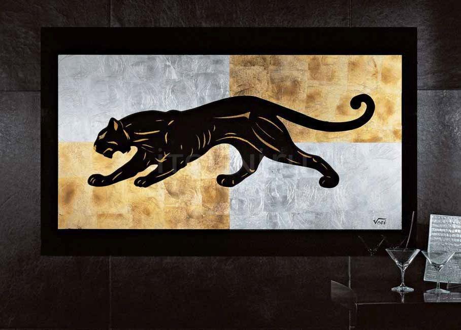 Интерьерная миниатюра Black panther Giorgio Collection