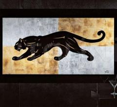 Интерьерная миниатюра Black panther фабрика Giorgio Collection