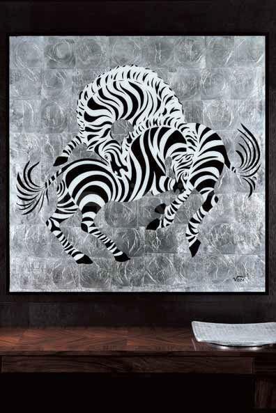 Интерьерная миниатюра Zebras Giorgio Collection