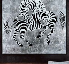 Интерьерная миниатюра Zebras фабрика Giorgio Collection