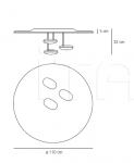 Потолочный светильник Droplet Artemide
