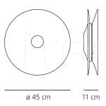 Настенный светильник Lunarphase Artemide
