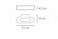 Настенный светильник Talo Artemide
