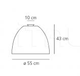 Потолочный светильник Nur Artemide